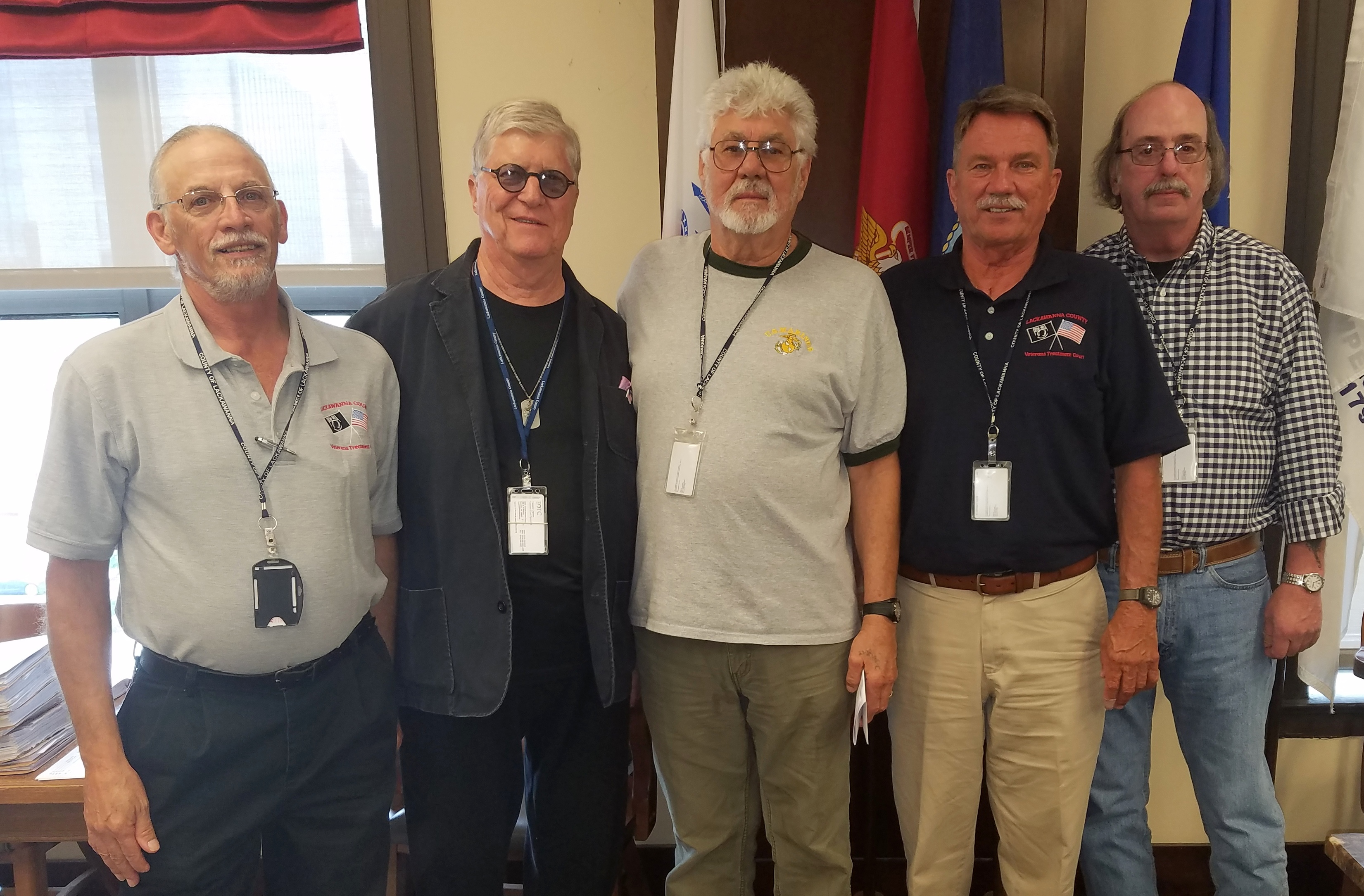 Outreach's trains volunteer mentors as an integral part of the Veteran's Treatment Court team.