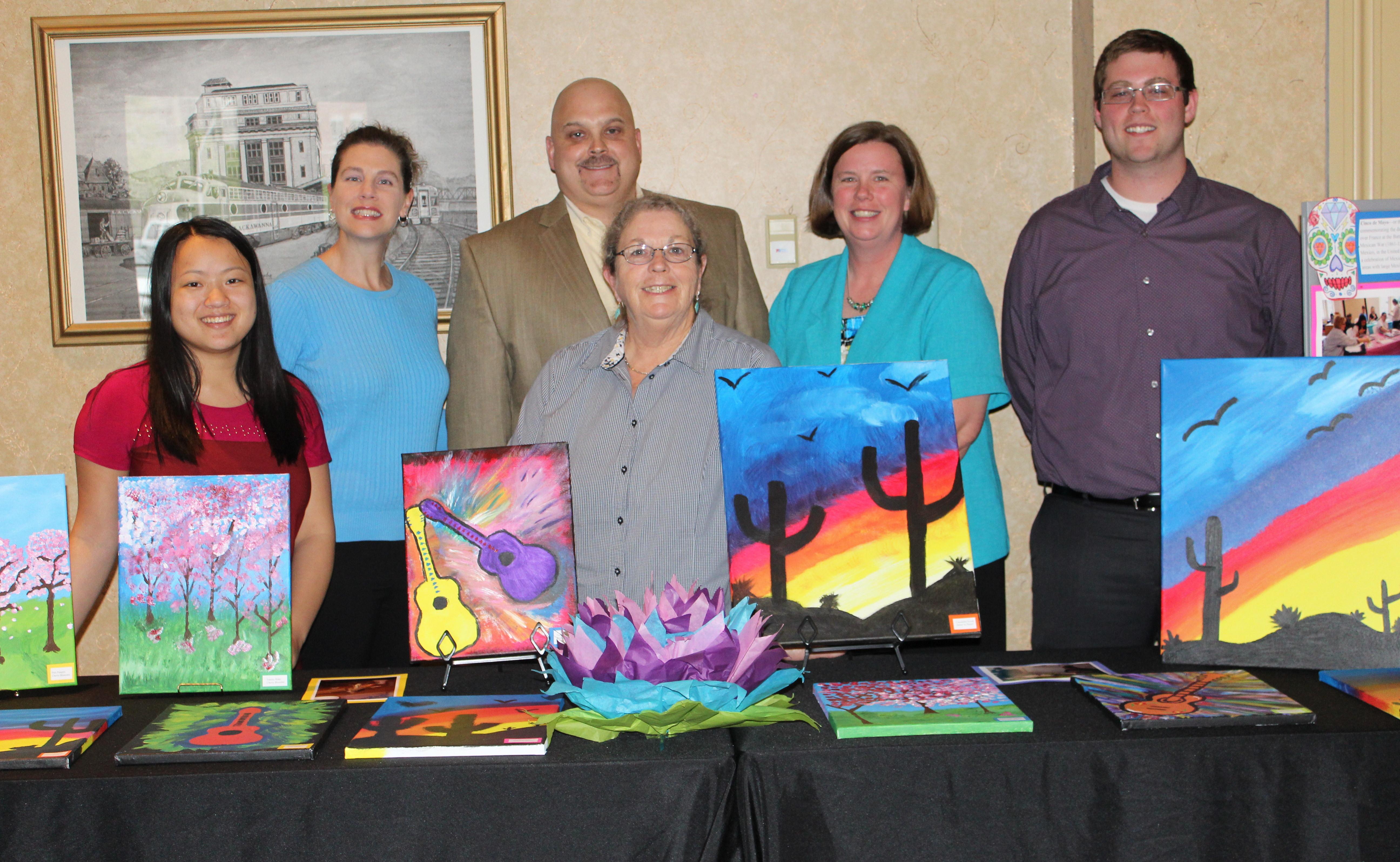 Outreach's Reentry team boosts self esteem through art enrichment activities.
