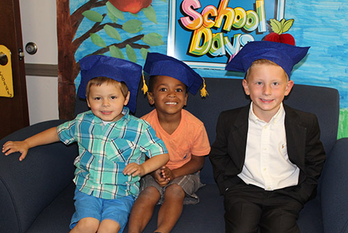 Graduates of our Parent - Child Programs are all smiles!