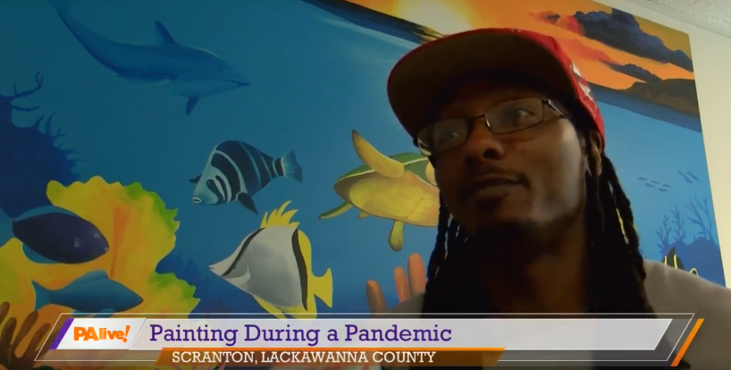 Painting During A Pandemic